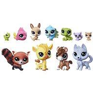 Littlest Pet Shop Veľký zberateľský set 11 ks zvieratiek - Herný set