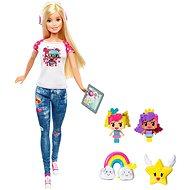 Mattel Barbie Vo svete hier S Emoji - Bábika