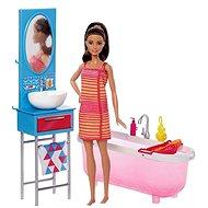 Mattel Barbie bábika v kúpeľni - Bábika