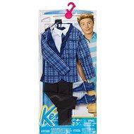 Mattel Barbie Kenův oblečok - fialovo-čierny - Bábika