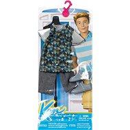 Mattel Barbie Kenův oblečok - bielo-zelený - Bábika