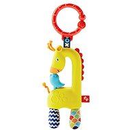 Fisher-Price - Závesná žirafa - Hrkálka a hryzadlo