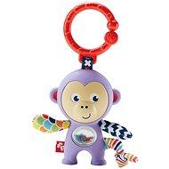 Fisher-Price - Závesná opička - Hrkálka a hryzadlo