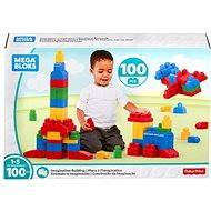 Mega Bloks Ružové stavanie s fantáziou (100) - Stavebnica