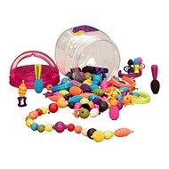 B-Toys Spojovacie korále a tvary Pop Arty 150 ks - Kreatívna súprava