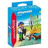 Playmobil 5376 Ochrankyňa s vydry - Figúrky