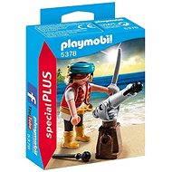 Playmobil 5378 Pirát s kanónom - Figúrky