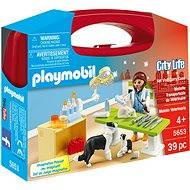 Playmobil 5653 Prenosný box - Návšteva u veterinára - Stavebnica
