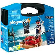 Playmobil 5655 Prenosný box - Pirát na plti - Stavebnica
