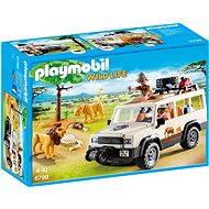 Playmobil 6798 Safari terénne auto s navijakom - Stavebnica