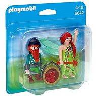 Playmobil 6842 Duo Pack Víla s trpaslíkom - Figúrky