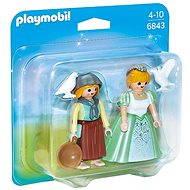 Playmobil 6843 Duo Pack Princezná s slúžka - Figúrky