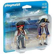 Playmobil 6846 Duo Pack Pirát a vojak - Figúrky