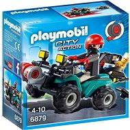 Playmobil 6879 Štvorkolka s navijakom - Stavebnica