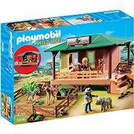 Playmobil 6936 Dom strážca parku s ošetrovňou zvierat - Stavebnica