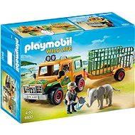 Playmobil 6937 Auto strážcov zvierat s prívesom - Stavebnica