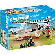 Playmobil 6938 Safari lietadlo - Stavebnica