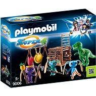 Playmobil 9006 Bojovníci Alien s pascí na T-Rexa - Stavebnica