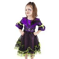 Rappa Čarodejnica fialová vel. M - Detský kostým