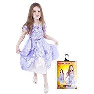 Rappa Princezná fialová, veľ. S - Detský kostým