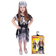 Rappa Pirátky skeletonka, veľ. S - Detský kostým