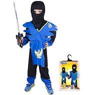 Rappa Ninja modro-žltý, vel. S - Detský kostým