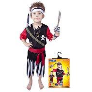 Rappa Pirát s šatkou veľ. S - Detský kostým
