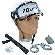 Rappa Prilba policajné s príslušenstvom - Doplnok ku kostýmu