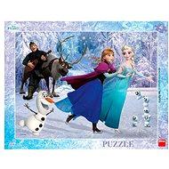 Dino Frozen: Na Korčuliach - Puzzle