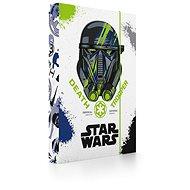 Karton P + P na zošity A4 Star Wars Rogue One - Dosky