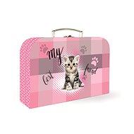 Karton P + P Lamino Junior mačka - Kufor pre deti