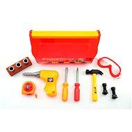 Teddies Malý stavbár v kufríku - Vzdelávacia hračka