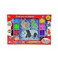 Teddies Zažehľovacie mozaika veľká - Kreatívna hračka