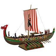 Smer Model Kit 0902 loď - Vikingská loď DRAKKAR - Plastový model