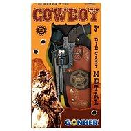 Kovbojská sada Revolever + šerifská hviezda - Detská zbraň