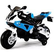 BMW S1000 modrá - Elektrická motorka