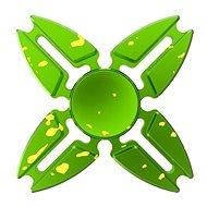 Fidget Spinner hliníkový zelený - Hlavolam