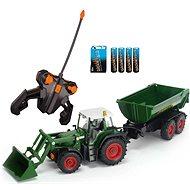 Dickie Traktor se lžící a vozíkem - RC model