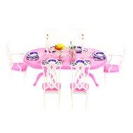 Glorie Stůl jídelní - Nábytok pre bábiky