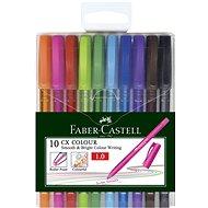 Faber-Castell Cx Colour 1,0 Mm, 10 Barev - guličkové pero