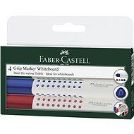 Faber-Castell Grip Marker Whiteboard, 4 ks - Popisovač