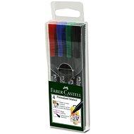 Faber-Castell Slim Multi Purpose Marker, 4 ks - Popisovač