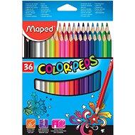 Maped Color Peps, 36 farieb - Pastelky