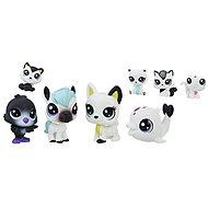 Littlest Pet Shop Černobílý set 8 ks C2826 - Zvieratko