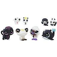 Littlest Pet Shop Černobílý set 8 ks C2828 - Zvieratko