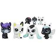 Littlest Pet Shop Černobílý set 8 ks C2827 - Zvieratko