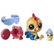 Littlest Pet Shop Maminka s miminkem a doplňky Rick Chickenluck - Zvieratko