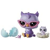Littlest Pet Shop Maminka s miminkem a doplňky Oona Owler - Zvieratko