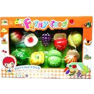 Set potravin na suchý zip ovoce a zeleniny - Súprava riadu