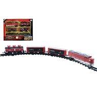 Vlak + 3 vagóny s kolejemi 16 ks